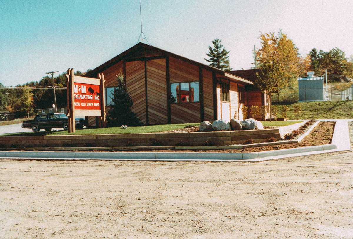 New M&M Office 1985