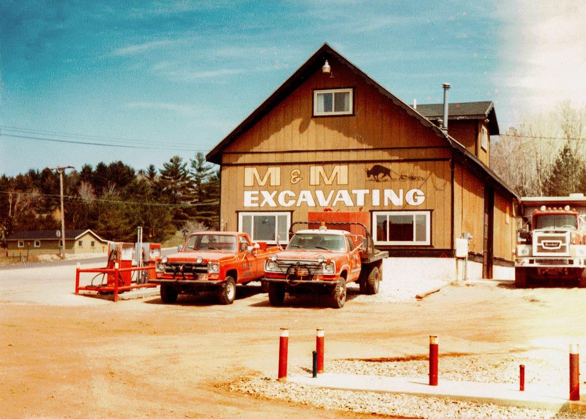 M&M Office & Maintenance Garage 1973-1984