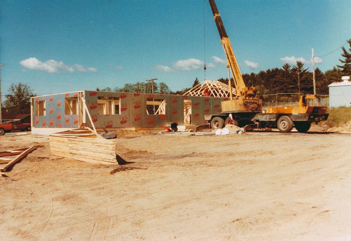 M&M rebuilding 1985